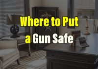 Where to Put a Gun Safe