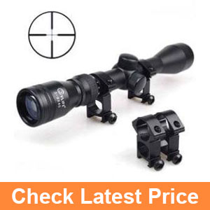 CVLIFE 3-9x40 Optics R4 Reticle Crosshair Scope