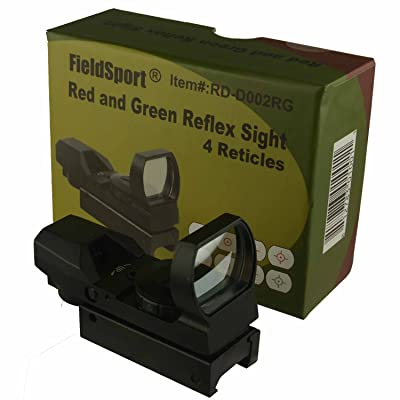 Field Sport Green and Red 4 Reticles Reflex Sight